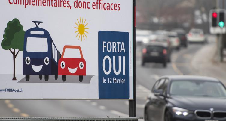 Le fonds routier FORTA entrera en vigueur en janvier 2018