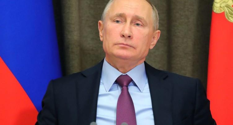 Poutine voit une « vraie chance » de mettre fin au conflit en Syrie