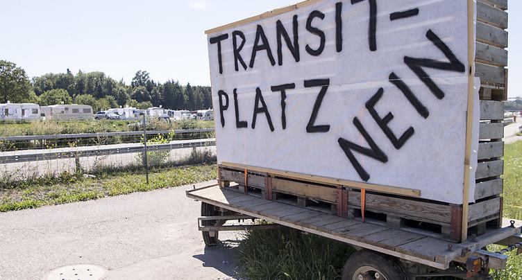 Aires de transit: non du Grand Conseil au gel de leur planification