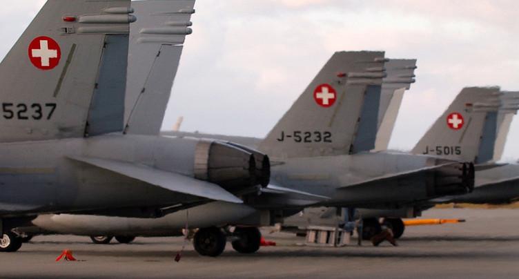 La Suisse ne va pas acheter ses avions de combat avec l'Autriche