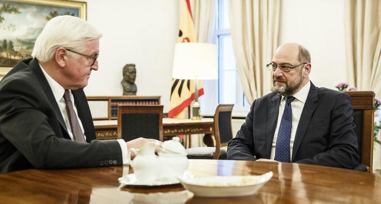 Le SPD pressé d'accepter une nouvelle « grande coalition » en Allemagne