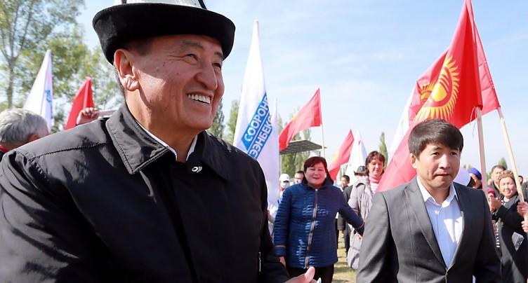 Le nouveau président du Kirghizstan prend ses fonctions
