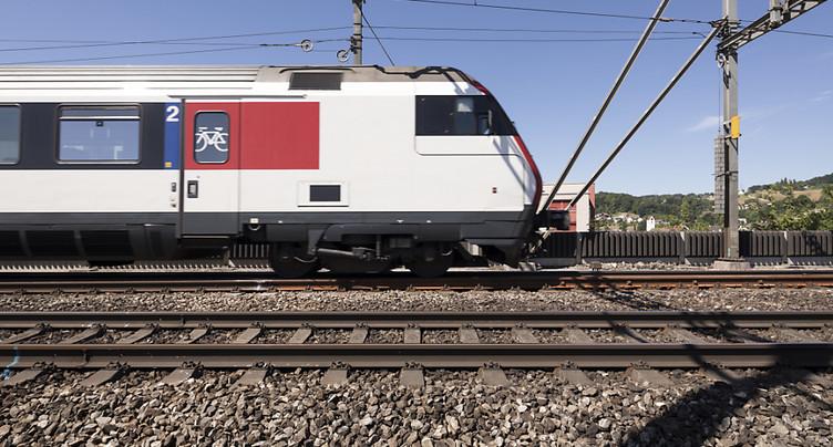 Bagarre dans un train près de Villette (VD): deux mineurs arrêtés