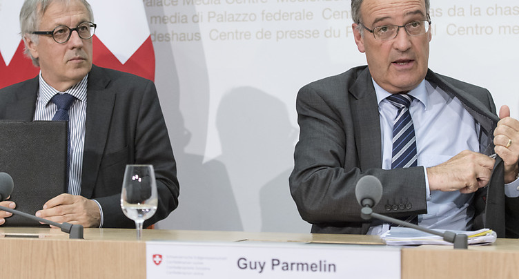 Guy Parmelin a désormais son Monsieur avions de combat
