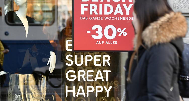 Un Black Friday sans gros soucis pour les sites helvétiques