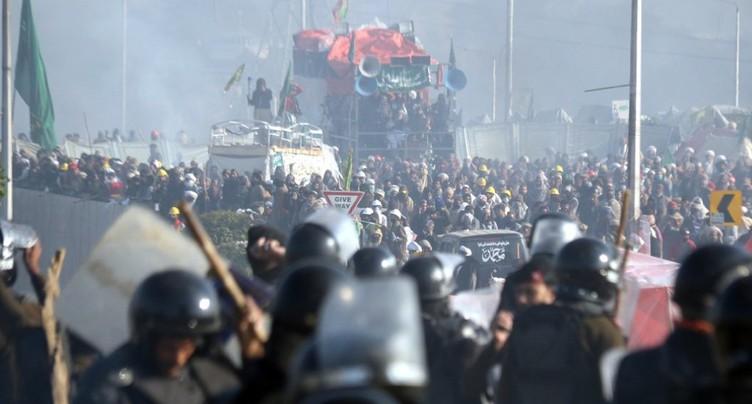 Affrontements entre policiers et islamistes au Pakistan