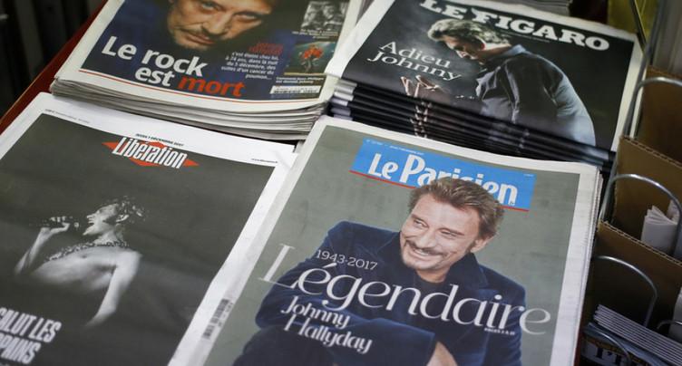 « Hommage populaire » à Johnny Hallyday organisé samedi sur les Champs-Elysées