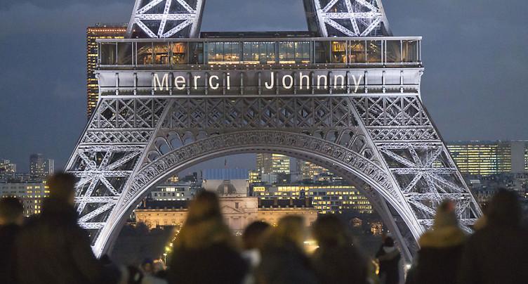 La France se prépare à dire adieu à Johnny dans l'émotion