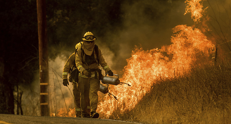 Accalmie sur le front des incendies en Californie