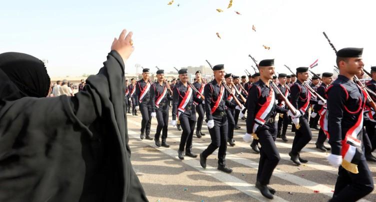 Parade militaire à Bagdad pour fêter la victoire sur l'EI