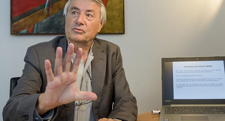 Le TF ne suspend pas le recours de Fabien Dunand