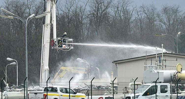 Le transit gazier a repris « à 100% » après l'explosion (opérateur)