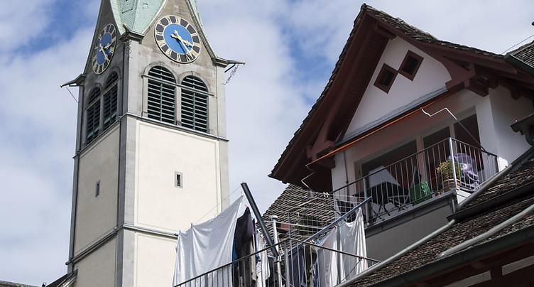 Les cloches de l'église de Wädenswil pourront continuer de sonner