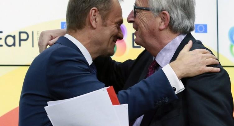 Brexit et migration au menu du sommet de l'UE de deux jours à Bruxelles