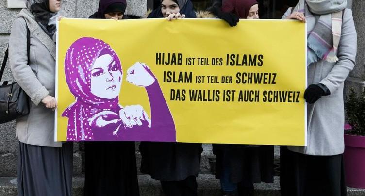 Initiative contre le voile à l'école déclarée irrecevable en Valais