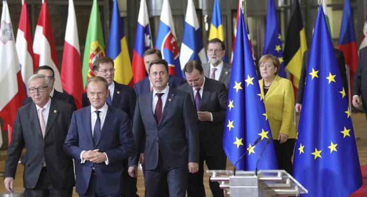 Brexit: les 27 approuvent l'ouverture de la phase suivante des négociations
