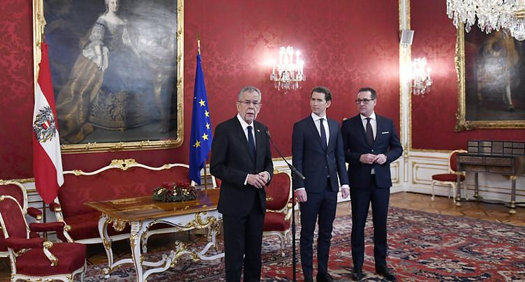 Le FPÖ obtient trois portefeuilles régaliens au gouvernement