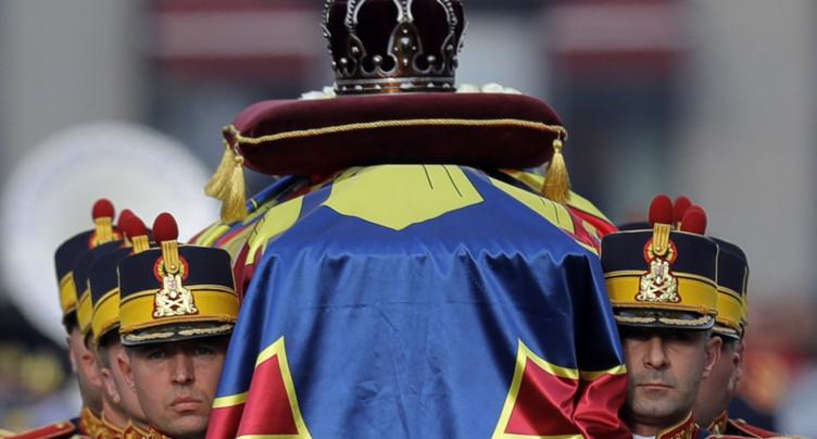 Les monarchies européennes aux obsèques de l'ex-roi roumain Michel