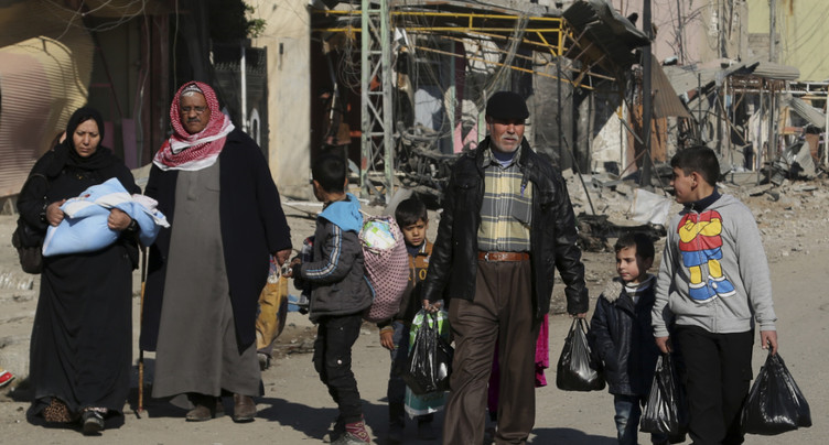 La moitié des Irakiens déplacés sont rentrées chez eux