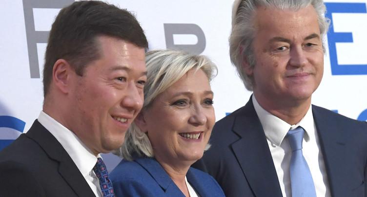 Réunion de leaders européens d'extrême droite à Prague