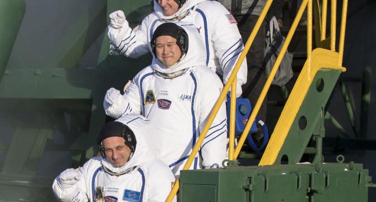 Trois astronautes décollent de Baïkonour à destination de l'ISS
