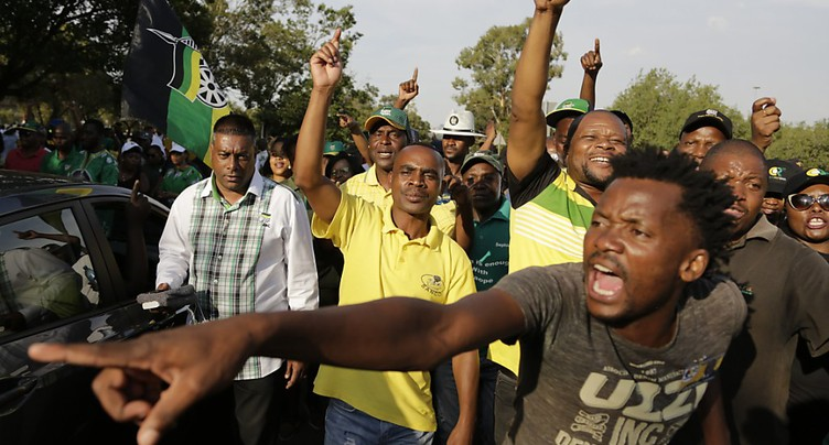 Afrique du Sud: l'ANC toujours divisée sur le choix de son futur chef