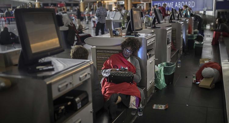 Electricité rétablie à l'aéroport d'Atlanta, après une panne géante