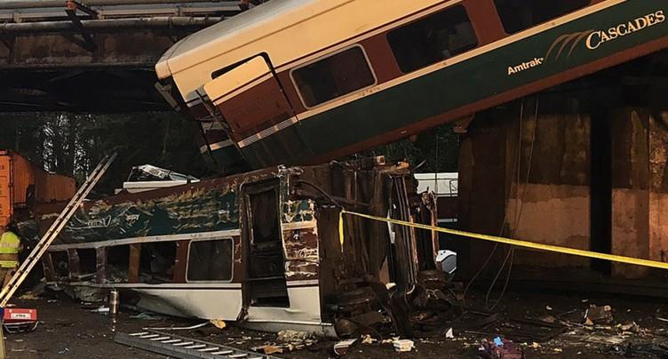 Déraillement mortel d'un train dans l'Etat de Washington