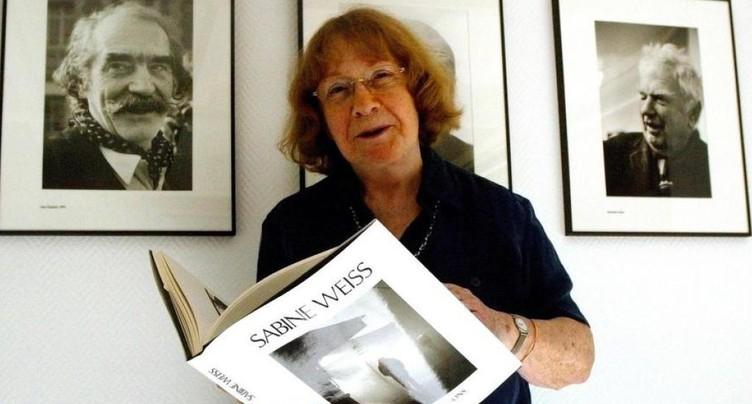 Sabine Weiss distinguée par la Swiss Photo Academy