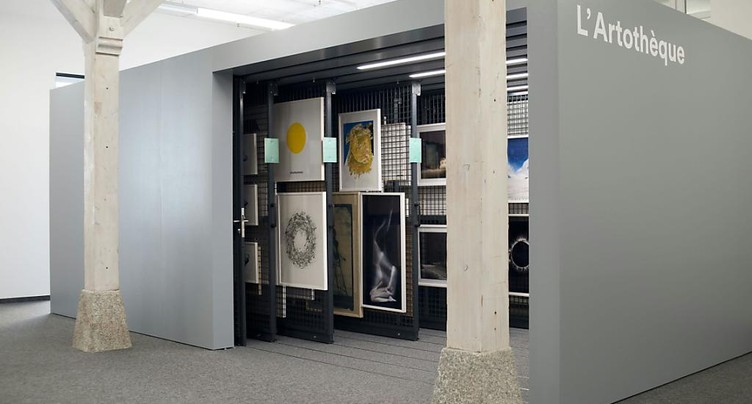 Artothèque inaugurée à la Médiathèque Valais