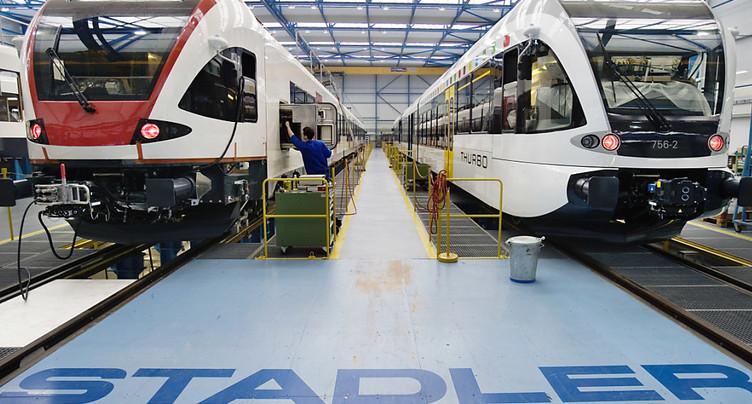 BLS et Stadler signent un gros contrat pour 52 nouveaux trains