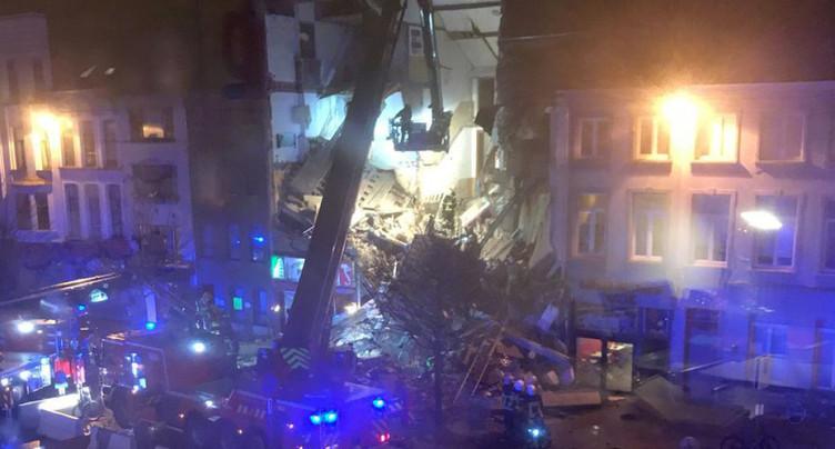 Une explosion fait deux morts et des blessés à Anvers