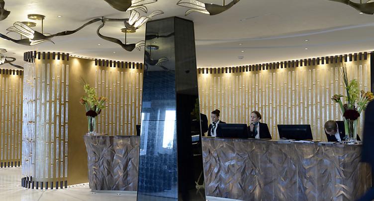 Les hôtels suisses accueillent de plus en plus de monde