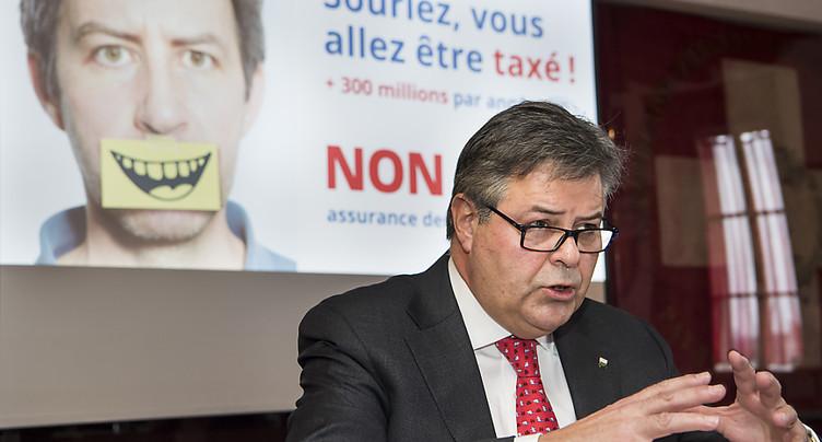 Vaud: les opposants disent non à une assurance chère et trompeuse
