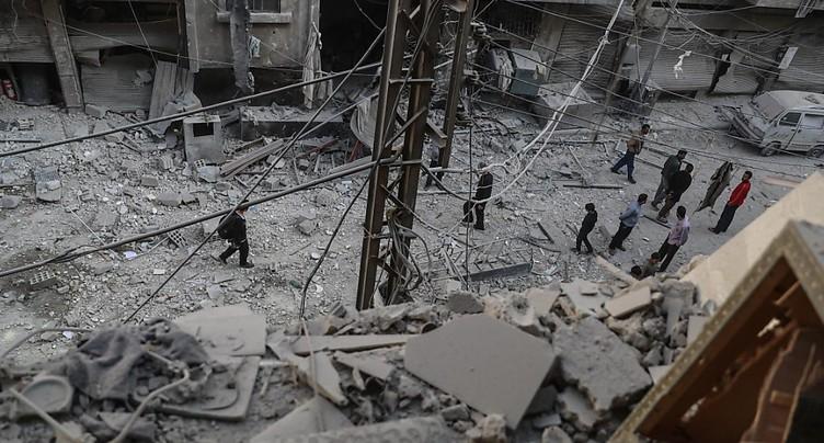 Terrorisme: fort recul du nombre de morts en Syrie et Irak en 2017