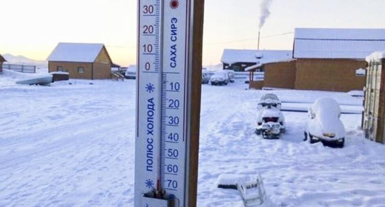 Russie: froid extrême en Sibérie à l'approche de l'Epiphanie orthodoxe