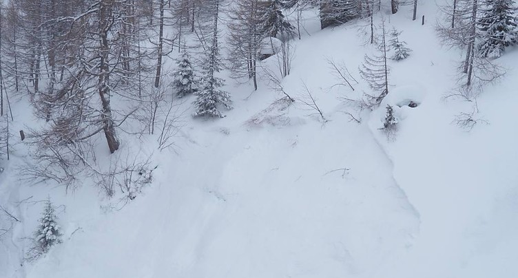Deux blessés dans une avalanche à Ovronnaz (VS)