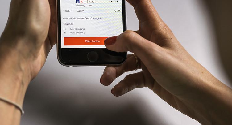 Vente de billets CFF brièvement bloquée en ligne et aux guichets