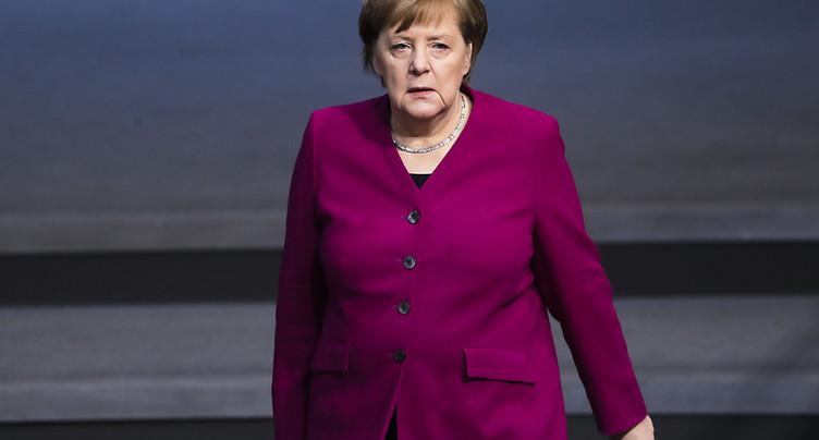 Merkel confirmée à Davos - Discours prévu mercredi prochain