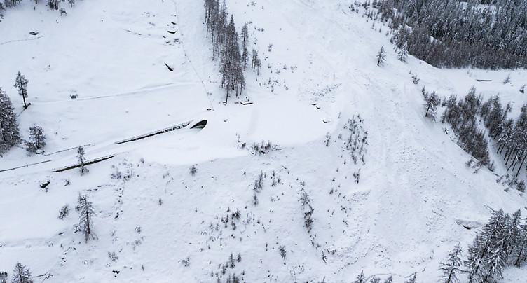 Danger d'avalanche: La police valaisanne appelle à la prudence