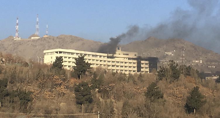 Kaboul: au moins 5 morts dans l'attaque de l'hôtel Intercontinental