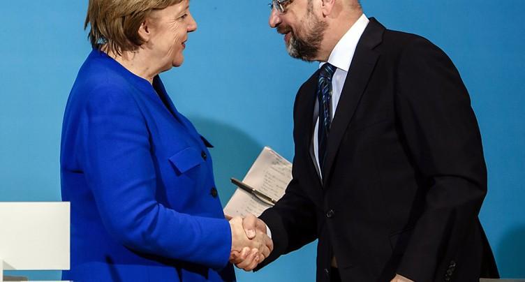 Le SPD se prononce à Bonn sur une coalition avec la CDU