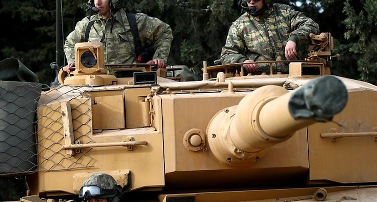 L'armée turque est entrée en territoire syrien