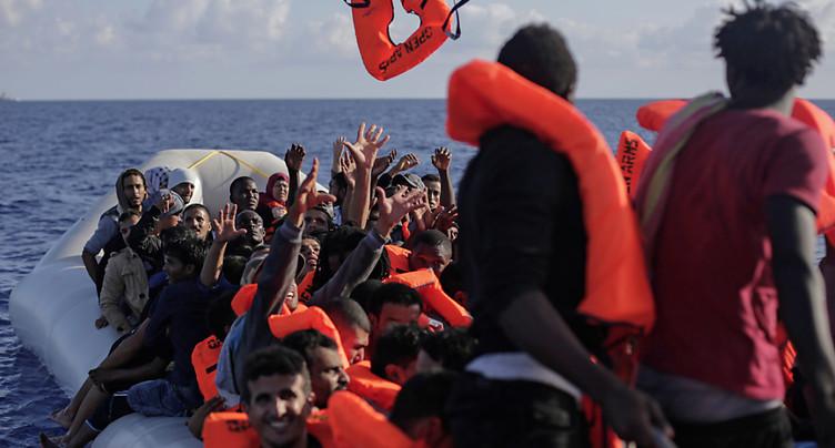 Un tiers de demandes d'asile en moins l'année dernière en Suisse