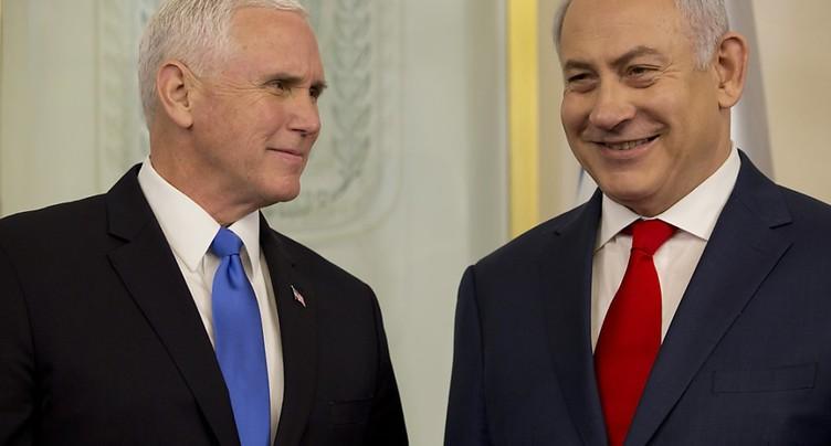 Mike Pence honoré d'être à Jérusalem, « capitale d'Israël »