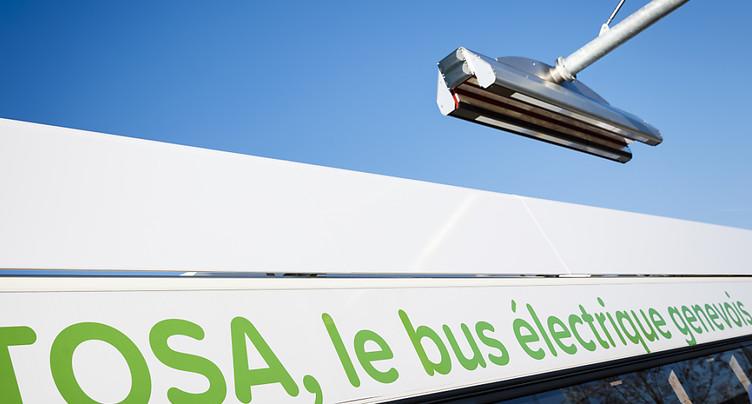 Le bus électrique TOSA pourrait à nouveau circuler en mars
