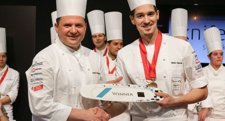 Mario Garcia remporte la sélection suisse du Bocuse d'Or