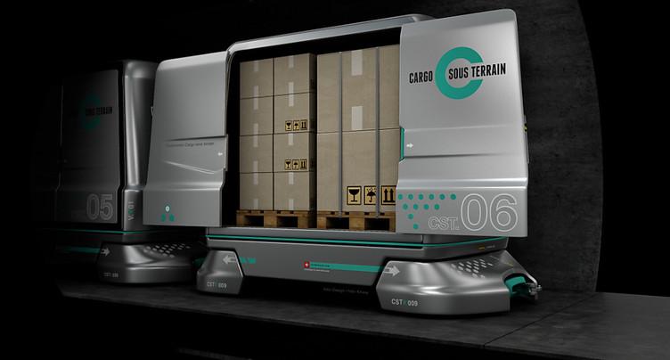 Cargo sous terrain présente sa feuille de route