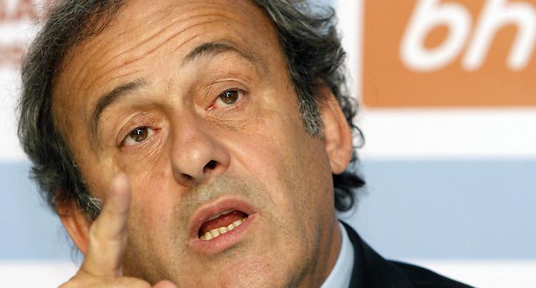 Recours de Platini devant la Cour européenne des droits de l'homme