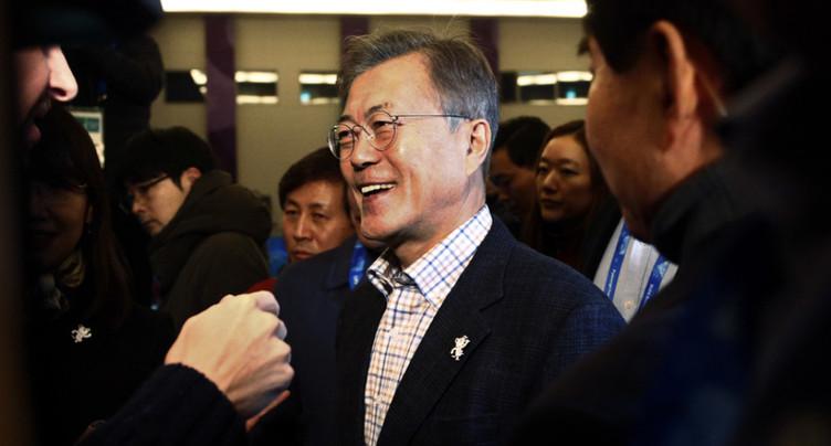 Il est trop tôt pour un sommet avec Pyongyang, estime Moon Jae-in